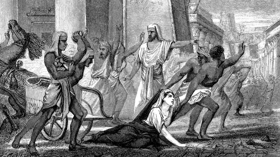 Ilustración de una batalla