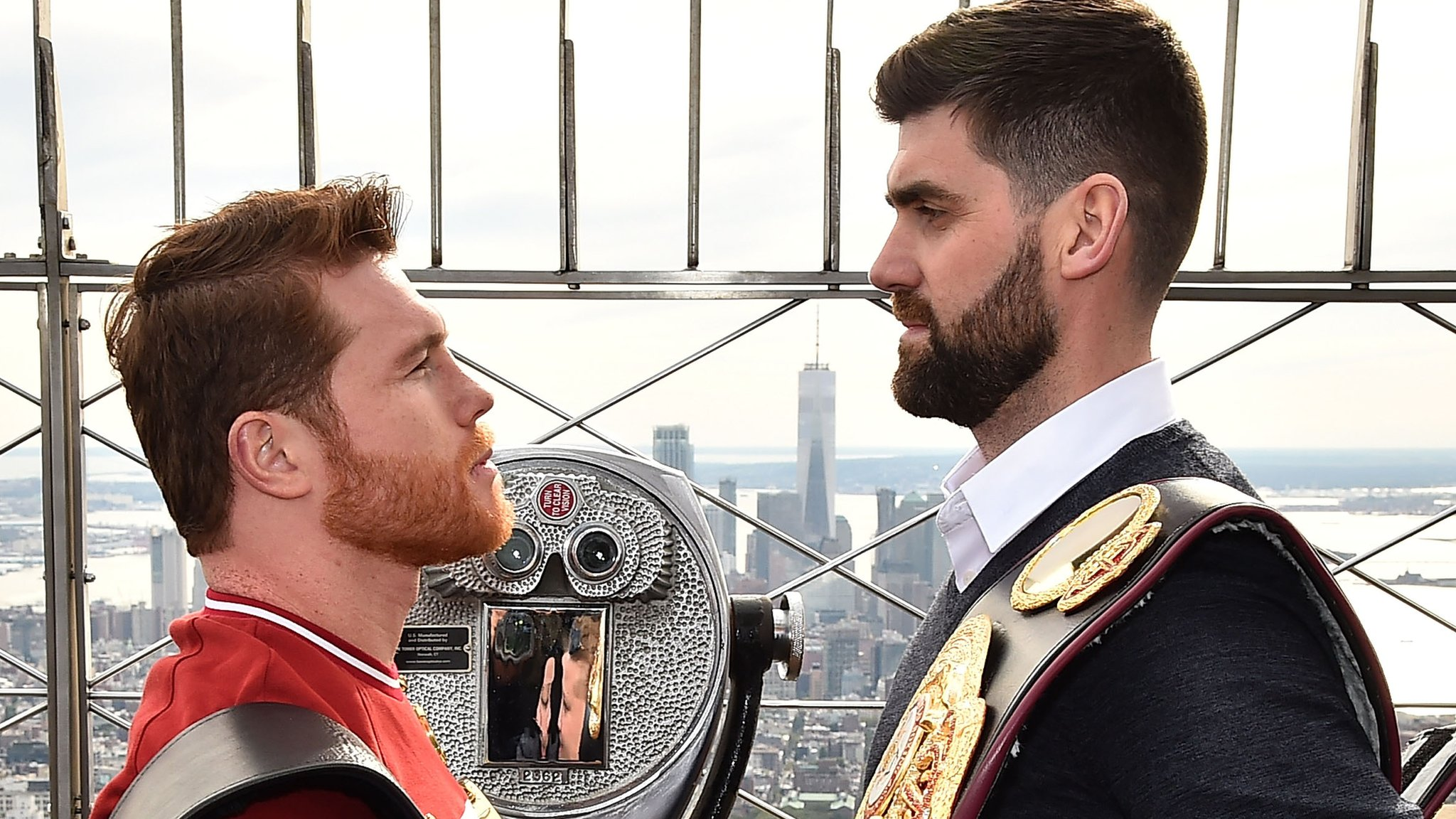 'Canelo' Alvarez v Rocky Fielding: Briton relishing chance to upset the odds