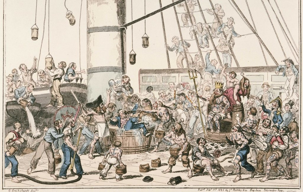Caricatura del rito de 1825
