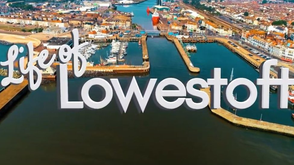 Still from Life of Lowestoft trailer