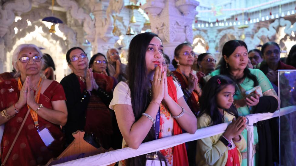 Diwali and Hindu New Year Celebrations at Neasden Temple