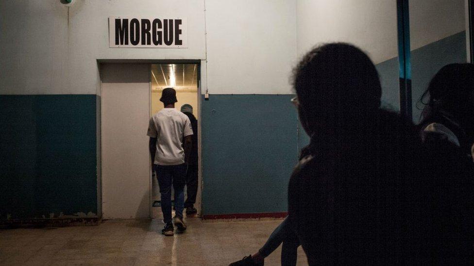 Morgue en Madagascar.