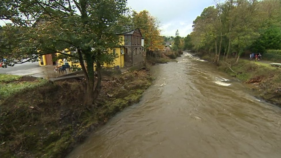 Storm Callum: Almost 200 Welsh homes hit by flooding
