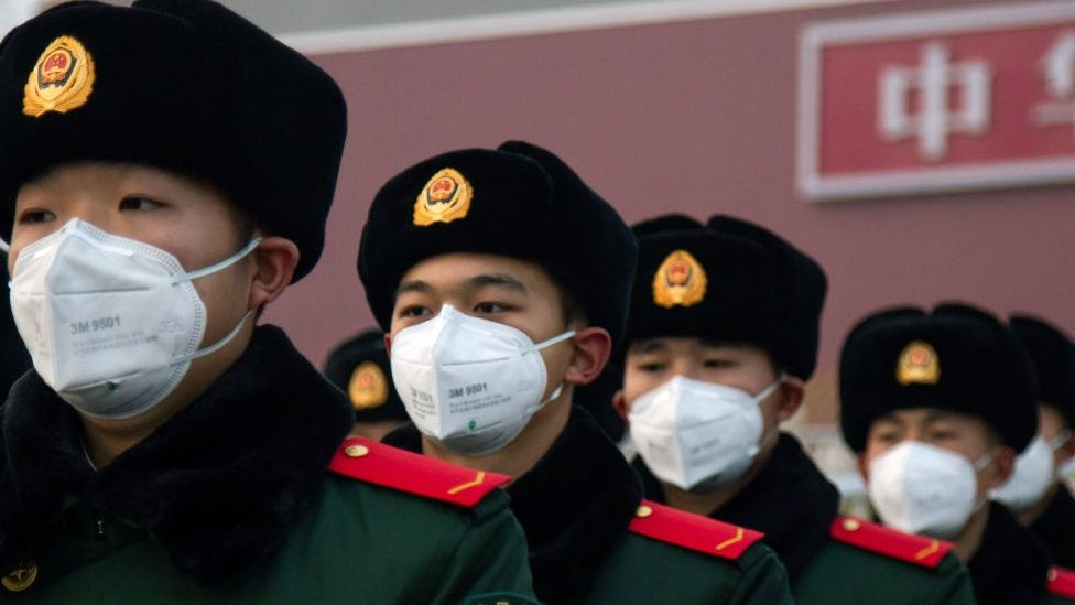 China is pushing back against a flurry of US sanctions.
