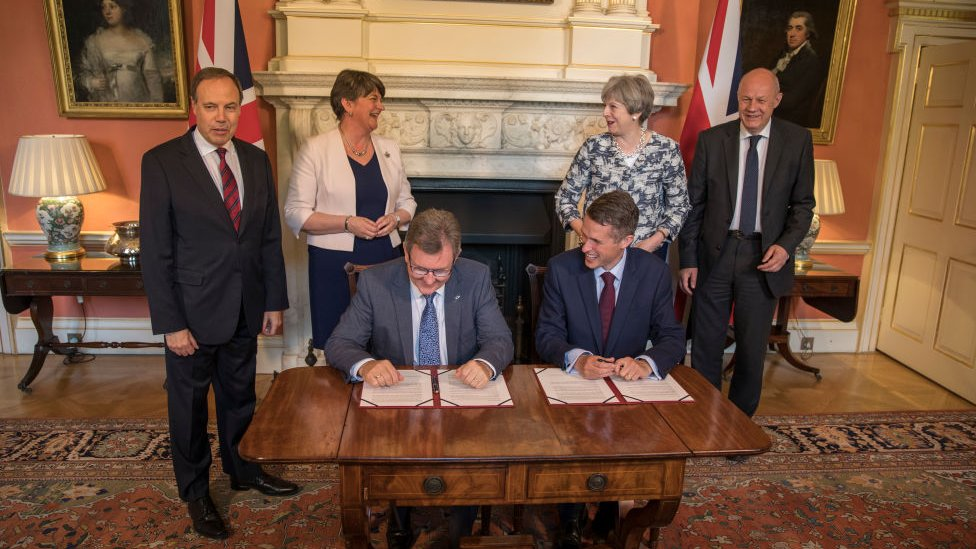 DUP-Tory deal signed