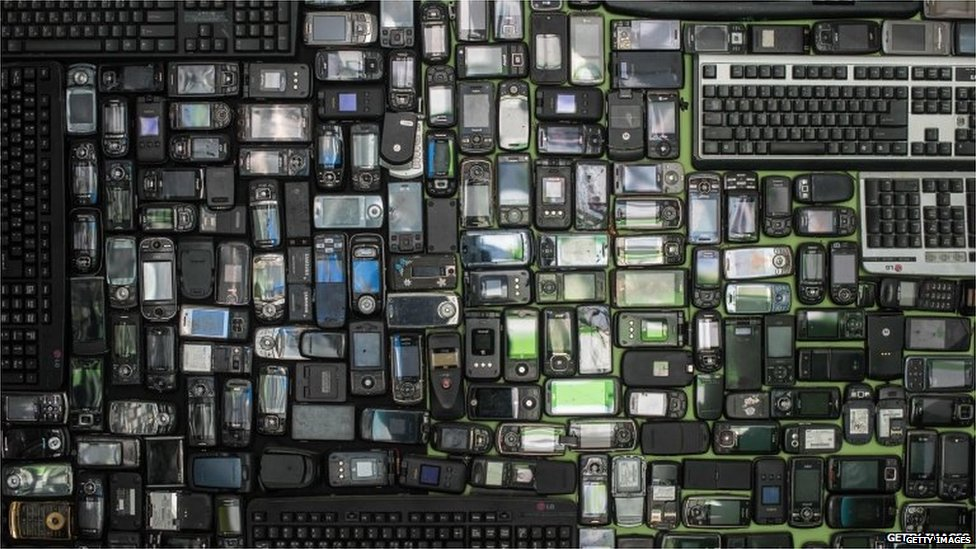Selection of e-waste (Getty Images)