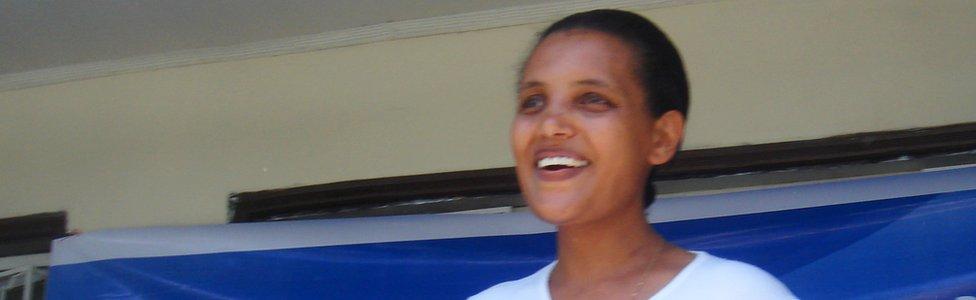 Birtukan Mideksa in 2010