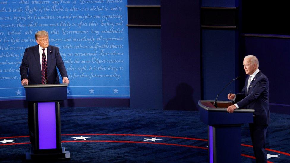 美國總統大選首場電視辯論