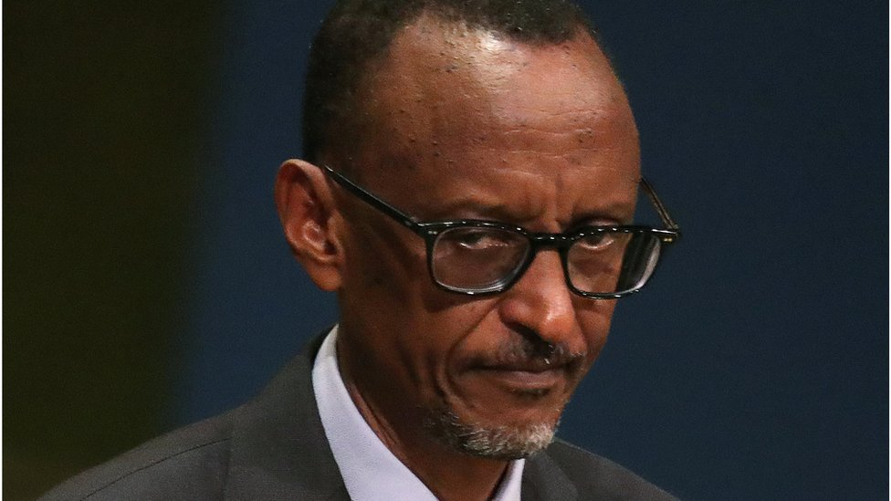 "Rwanda""s President Paul Kagame addresses the 71st United Nations General Assembly in the Manhattan borough of New York, U.S., September 22, 2016"