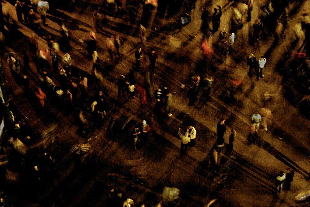 مشاهد من ثورة 25 يناير