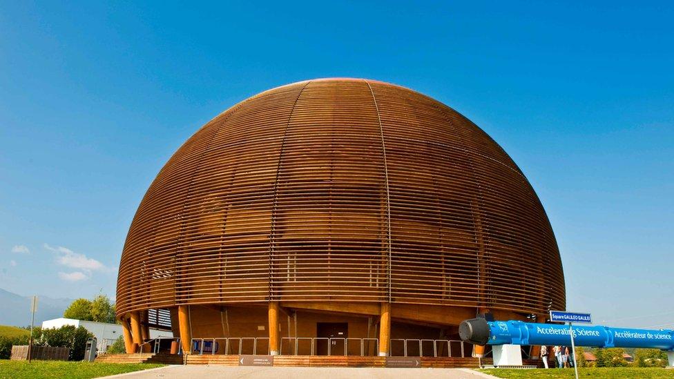 Zgrada CERNa u Ženevi