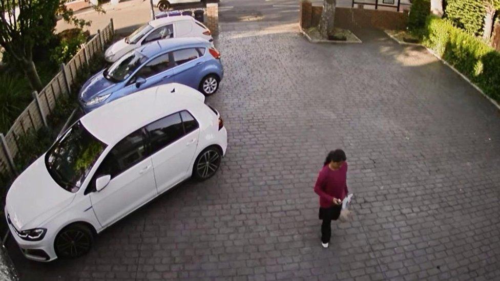 Middlesbrough murderer Mitesh Patel caught on CCTV