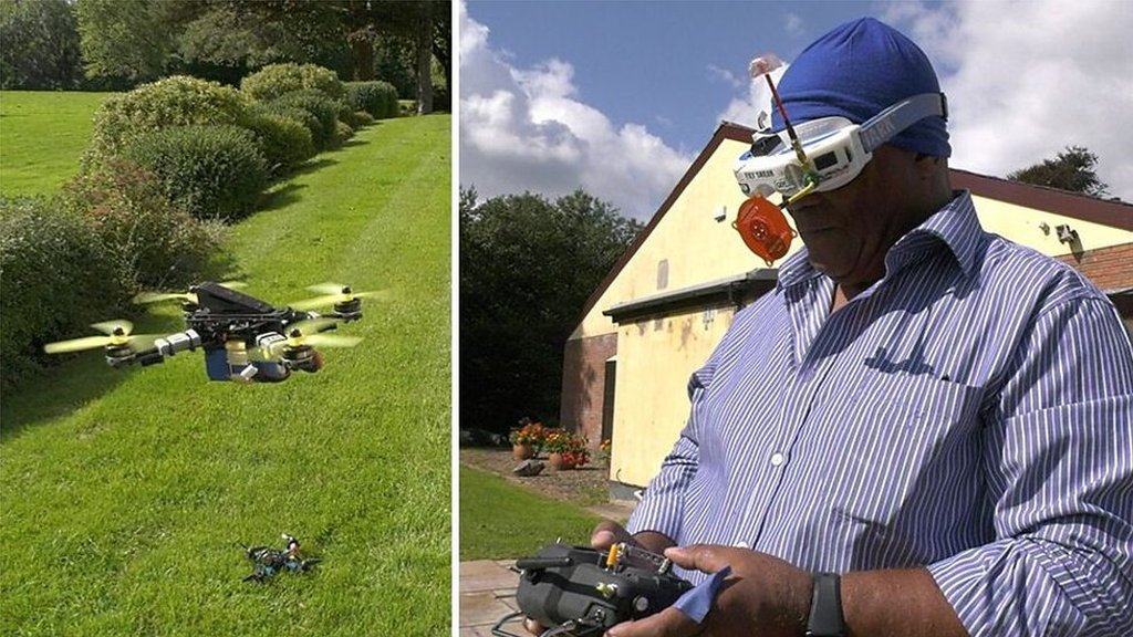 Flying at 120 mph & 'cheaper than golf' - this is drone racing