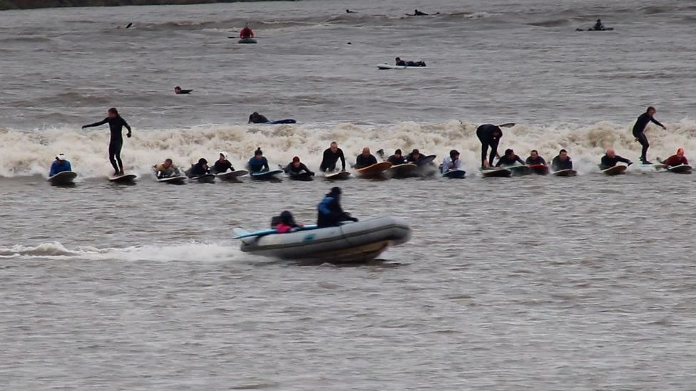 Only daytime five-star bore for 2019 travels up Severn Estuary