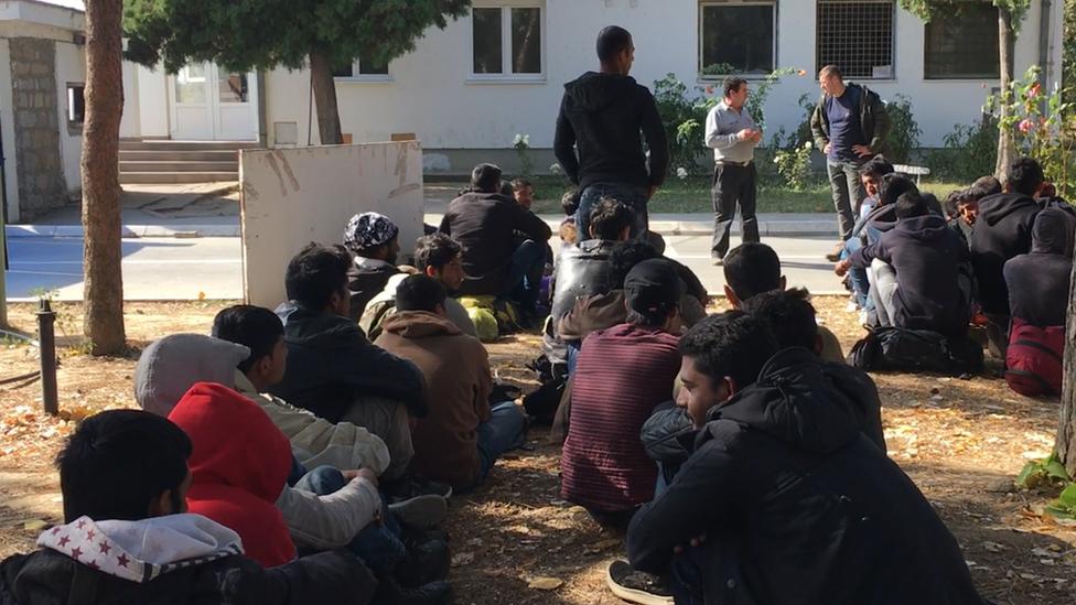 izbeglice u Obrenovcu