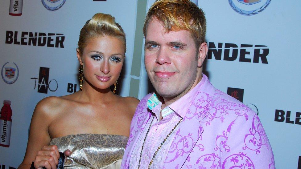 Paris Hilton and Perez Hilton