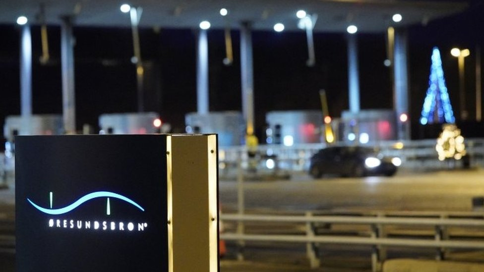 瑞典關閉與丹麥的邊境