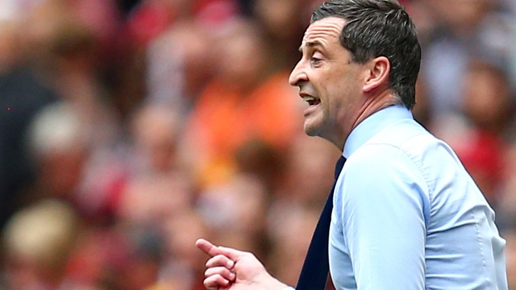 League One play-off final: Sunderland must 'deal with adversity' of loss - Jack Ross