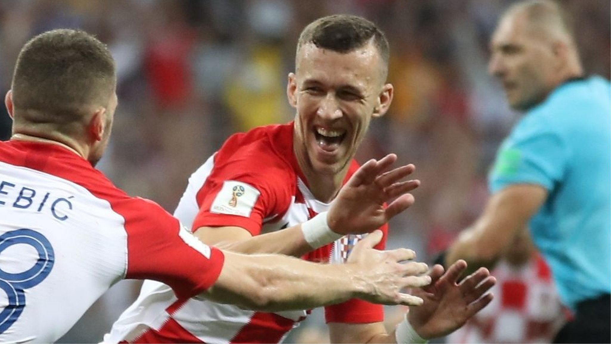 World Cup 2018: Ivan Perisic fires Croatia level against France in the final