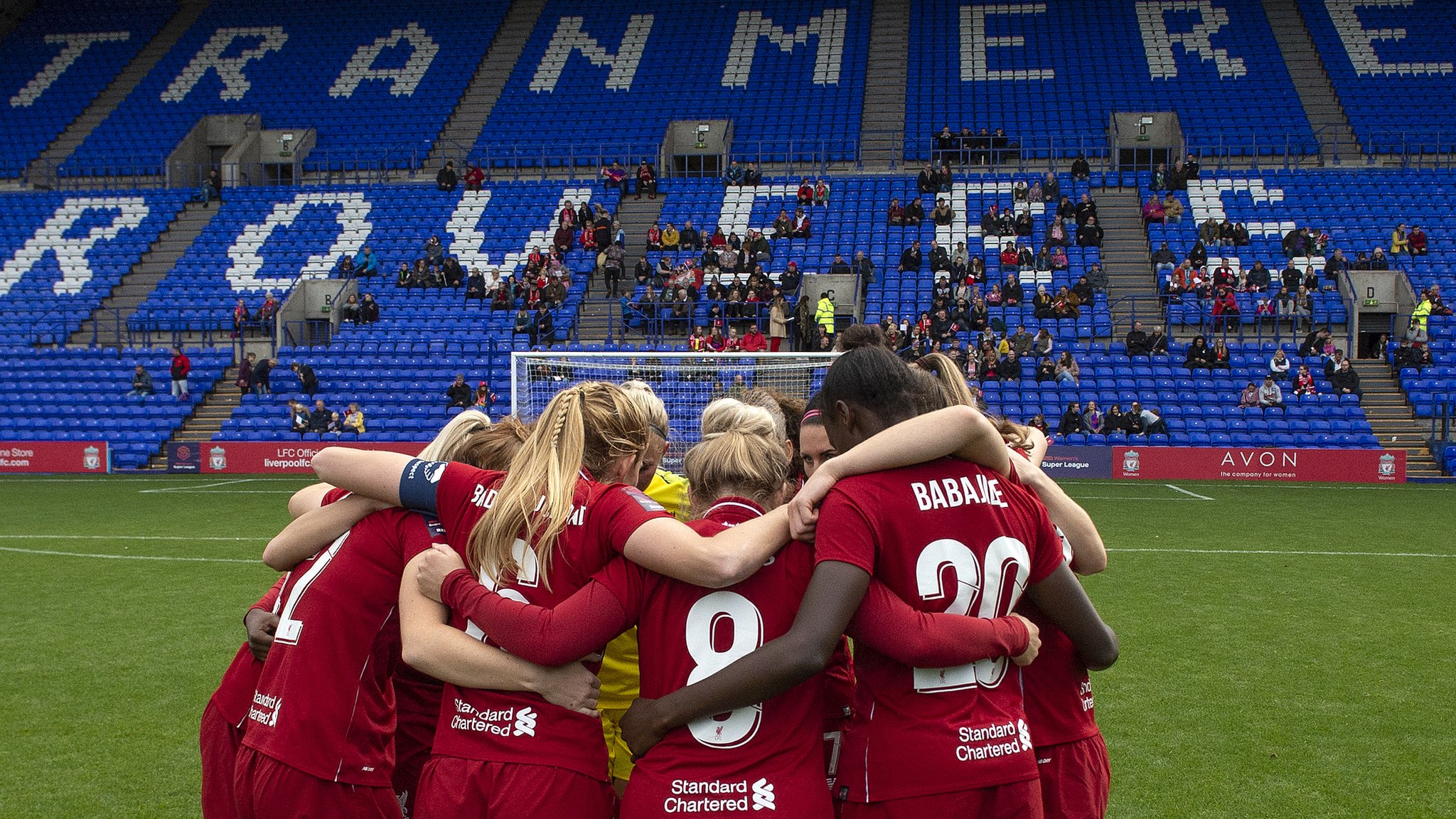 Liverpool Women: WSL club to stay at Tranmere Rovers' Prenton Park until 2021