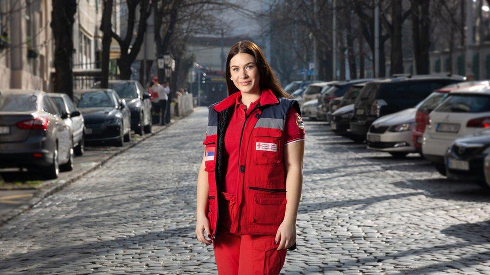 Ana Nikolić ima 20 godina i već 10 je volonterka Crvenog krsta