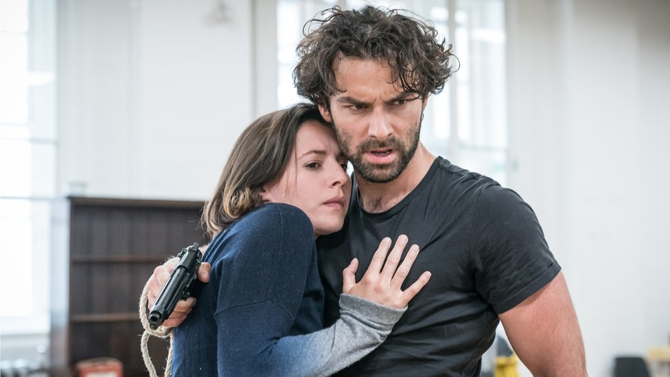 Rehearsals for The Lieutenant of Inishmore