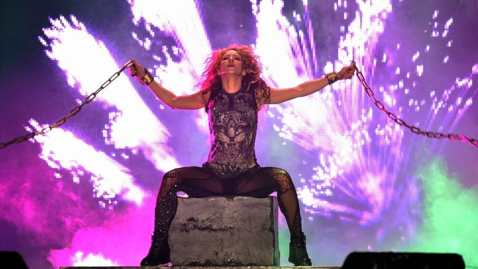 Shakira en el Estadio Azteca