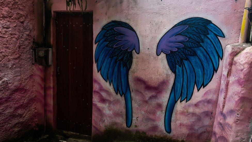 Guardería en una favela de Río