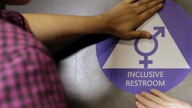 Inclusive bathroom sign