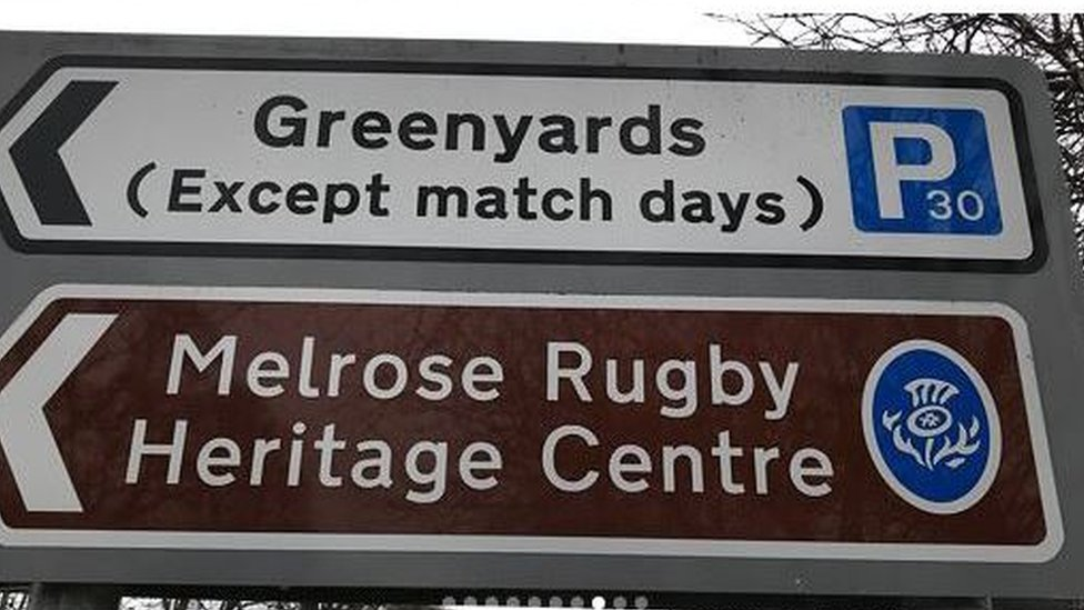 Clean Greenyards sign