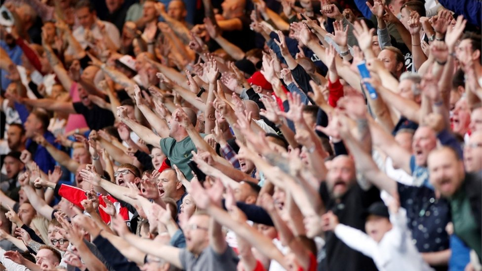 Sheffield United supporters
