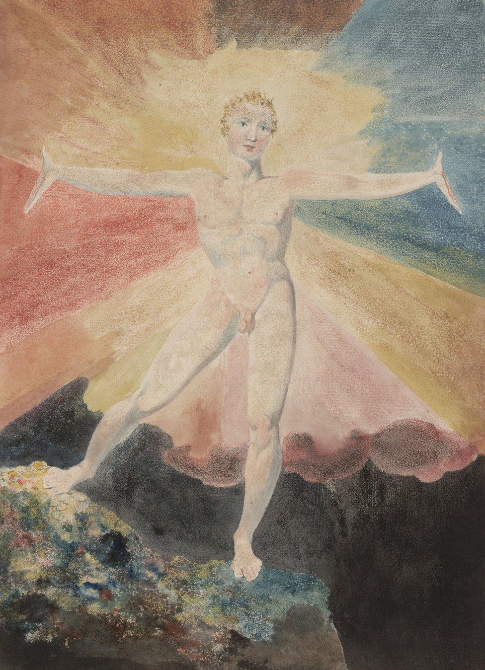 Exposición de William Blake