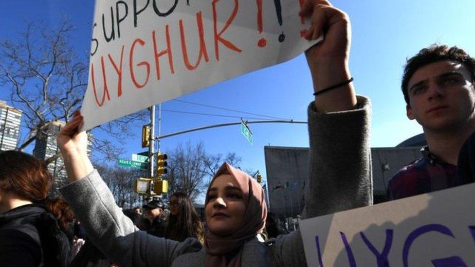 مسلمين من الإيغور