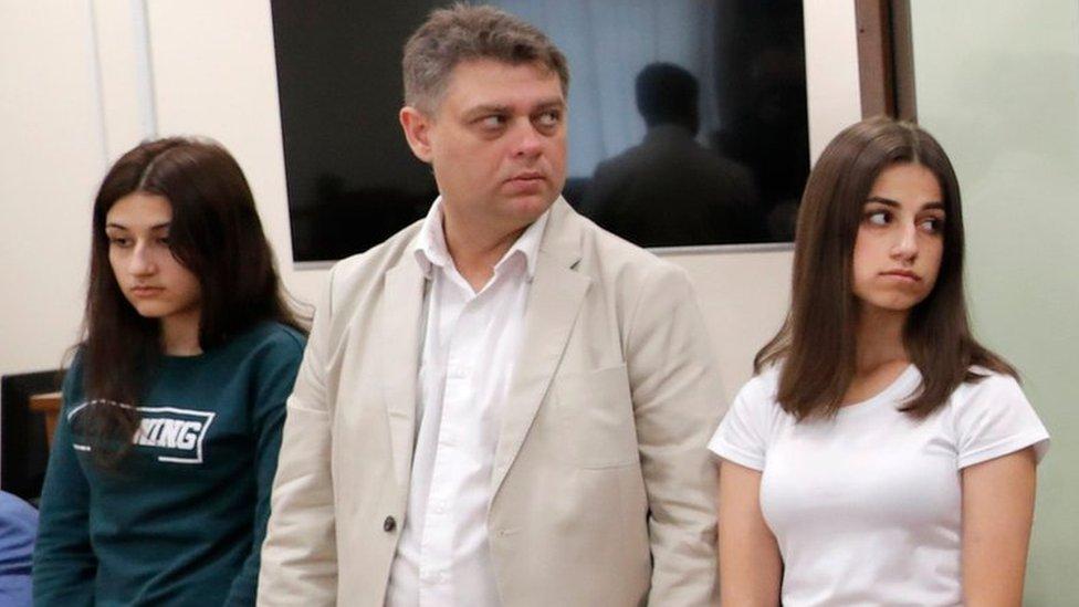 Генпрокуратура утвердила сестрам Хачатурян обвинение в убийстве