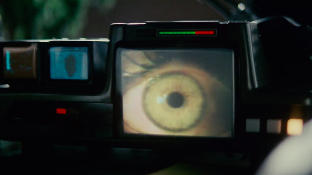The Voight-Kampff lie detector machine in Blade Runner