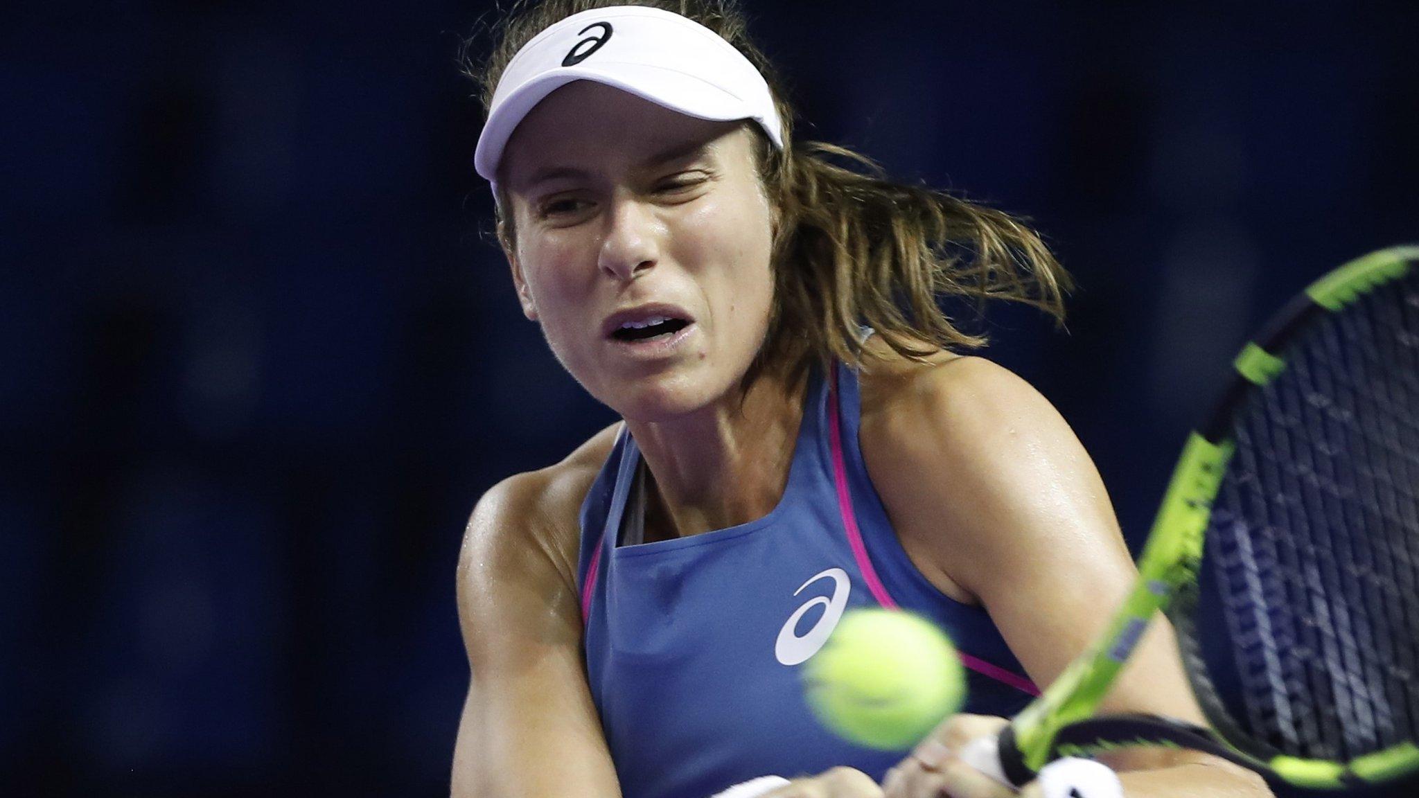 Kremlin Cup: Great Britain's Johanna Konta loses to Daria Kasatkina in Moscow