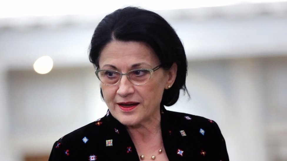 Ecaterina Andronescu, Romania's former education minister