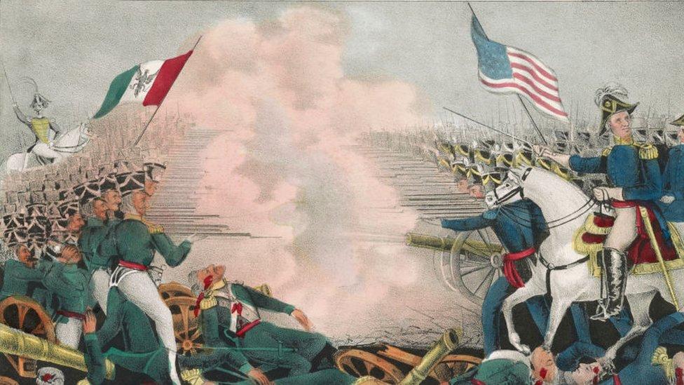 Batalla durante la intervención de EE.UU. en México.