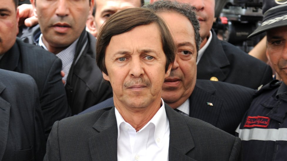 Said Bouteflika pictured in 2012,