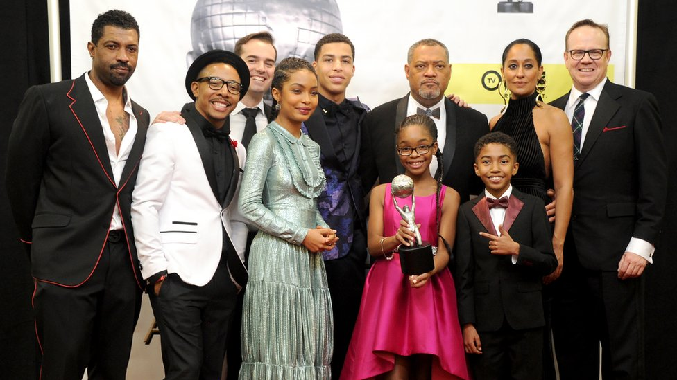 The cast of Black-ish
