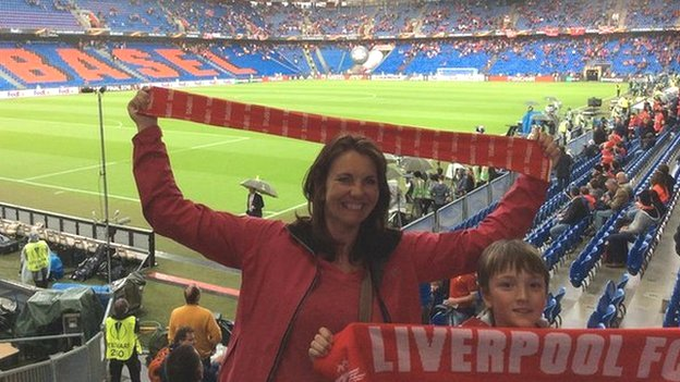 Four-day journeys, honeymoon risks and detours via Sweden - Liverpool fans head to Kiev
