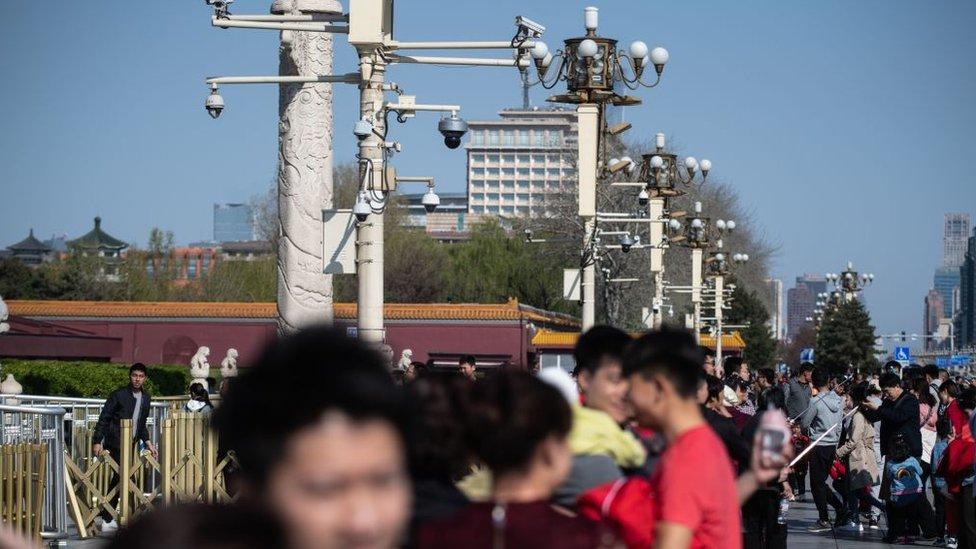 View of Tiananmen Square
