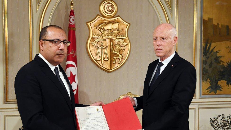 المشيشي كان اختيار سعيد لرئاسة الحكومة
