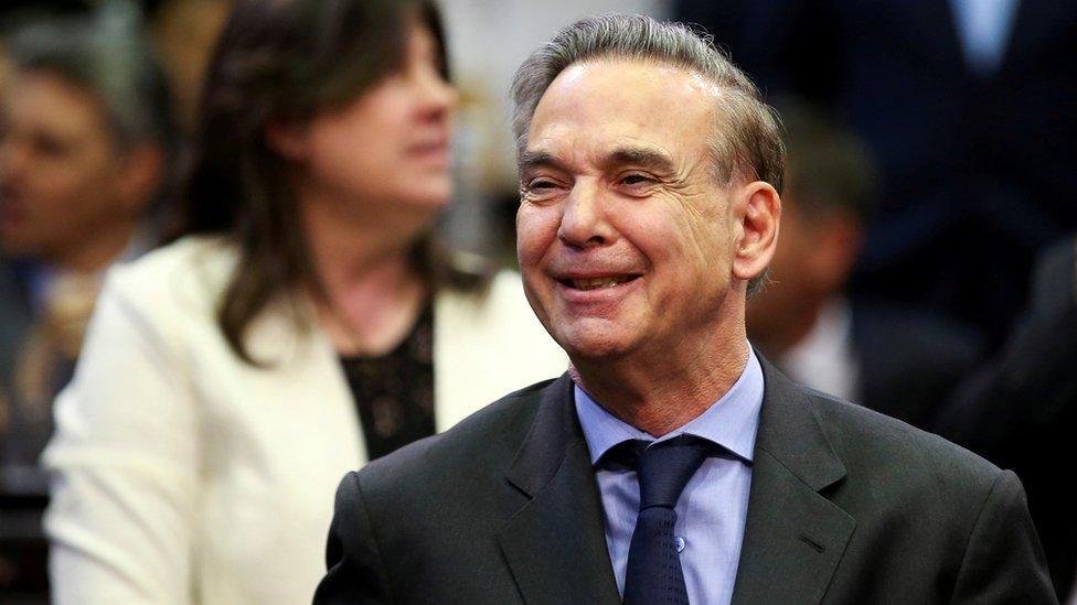 Pichetto es senador desde 2001.