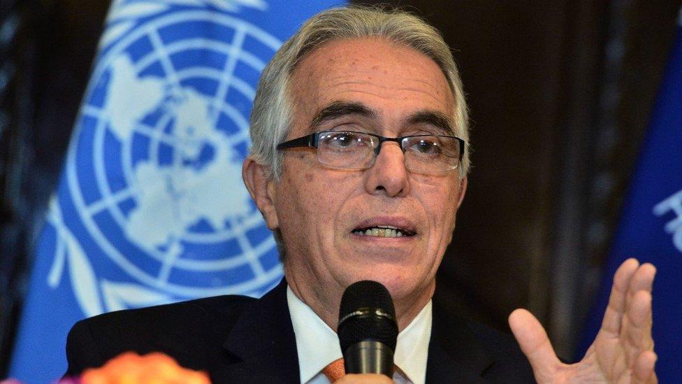Diego García-Sayán, relator especial de las Naciones Unidas sobre la independencia de magistrados y abogados.