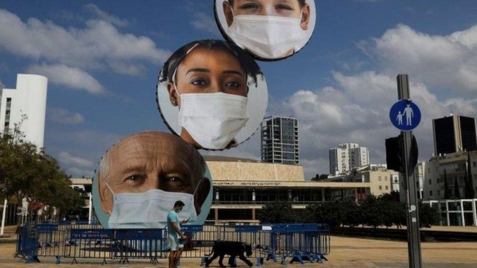تشهد إسرائيل أحد أعلى معدلات الإصابة بالفيروس في العالم قياسا لعدد السكان