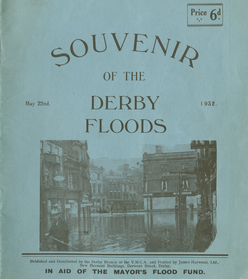 Souvenir of the Derby floods