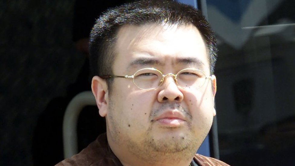 Kim Jong-Nam pictured in 2001
