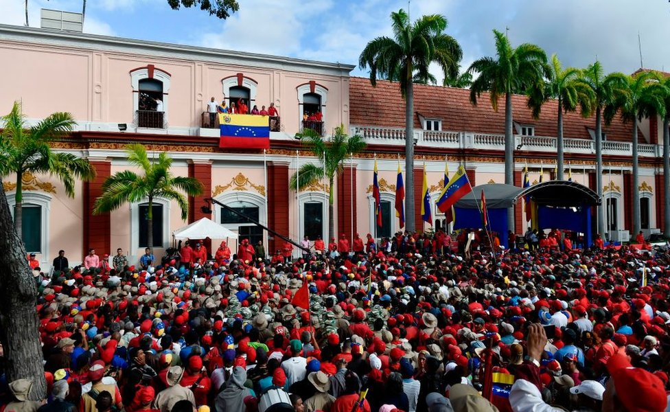 Anuncio de Maduro desde Miraflores.