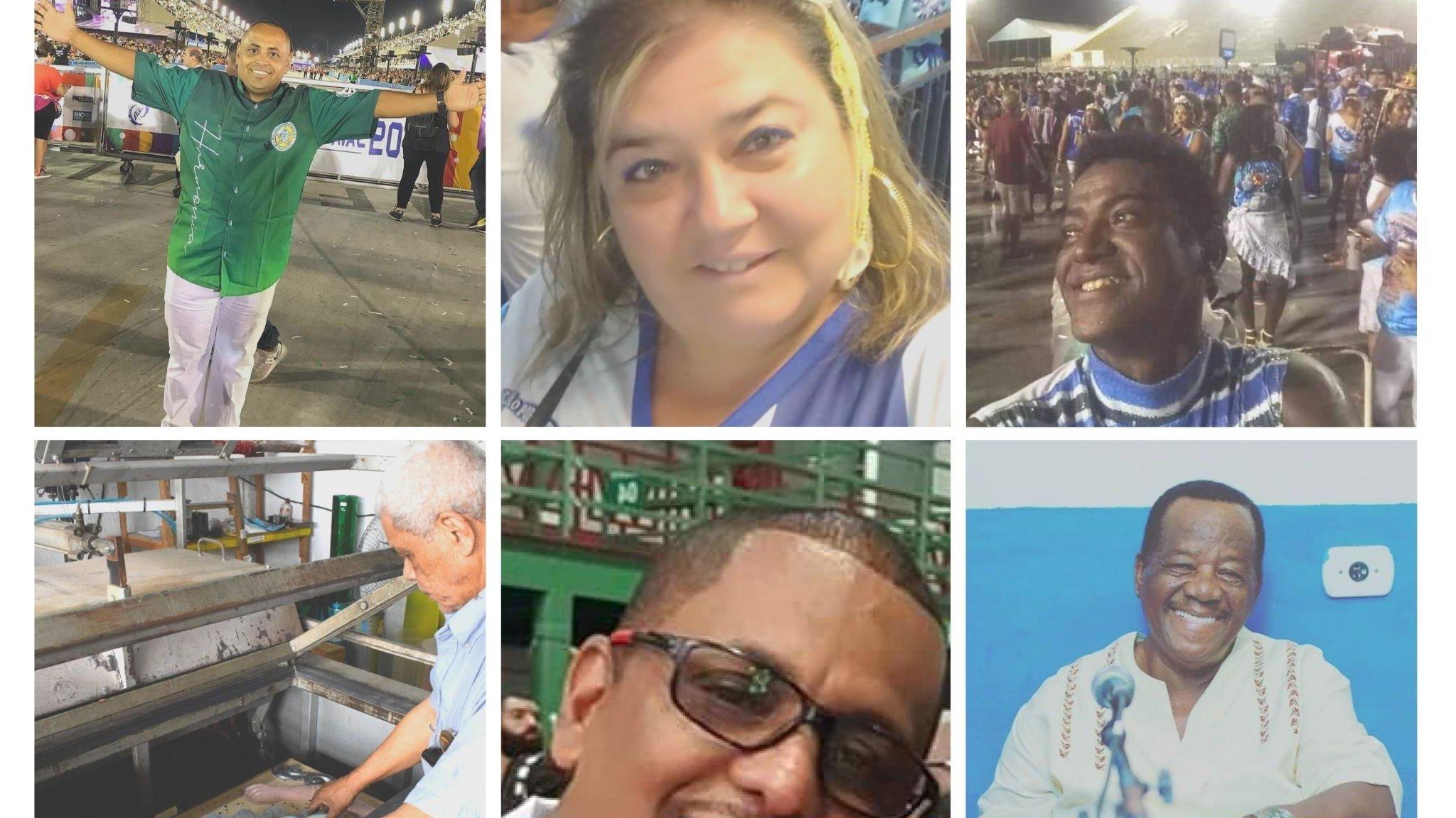 Coronavírus: quem são as vítimas de covid-19 das escolas de samba do Carnaval do Rio